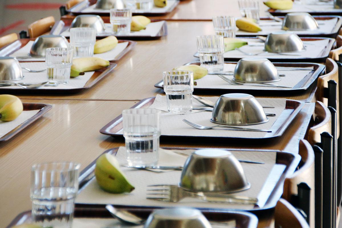 Imagen de un comedor escolar
