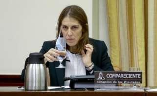 Paula Conthe, presidenta del FROB. EFE
