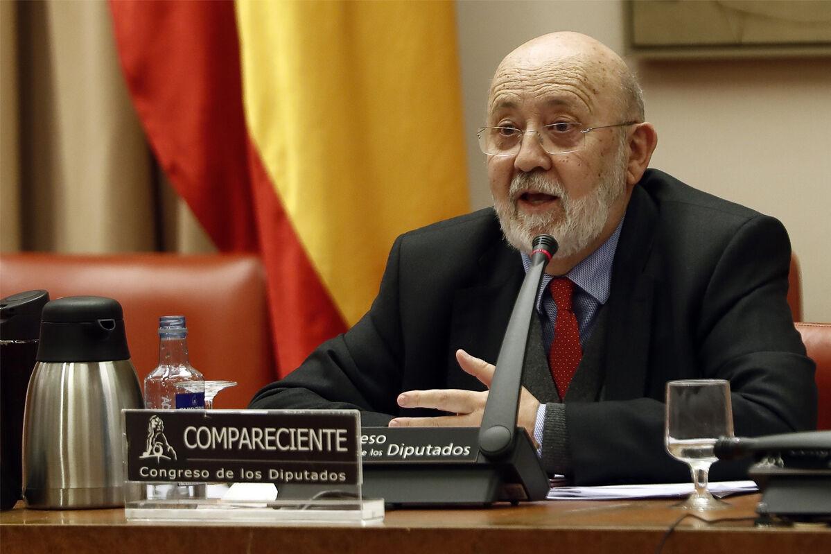 El presidente del CIS, José Félix Tezanos. EFE/ Mariscal /Archivo