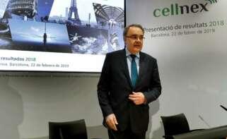 El consejero delegado de Cellnex, Tobías Martínez. EFE/Toni Albir/Archivo