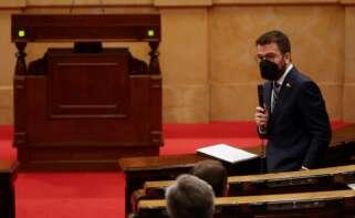 Sesión de control al Govern en funciones en el Parlament / EFE