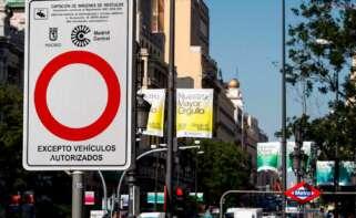 El Tribunal Supremo ha tumbado Madrid Central, la iniciativa que puso en marcha Manuela Carmena en 2018./ EFE/Archivo