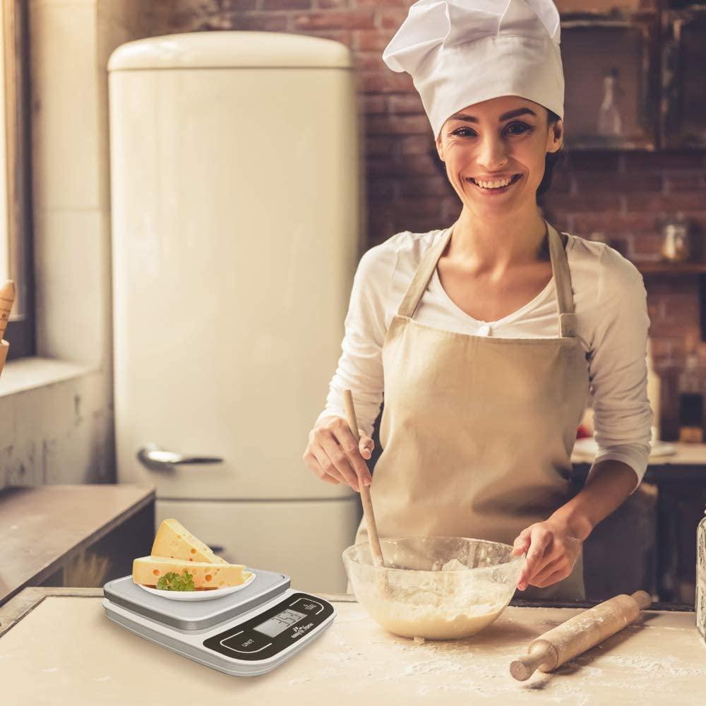 Báscula digital de cocina, en Amazon