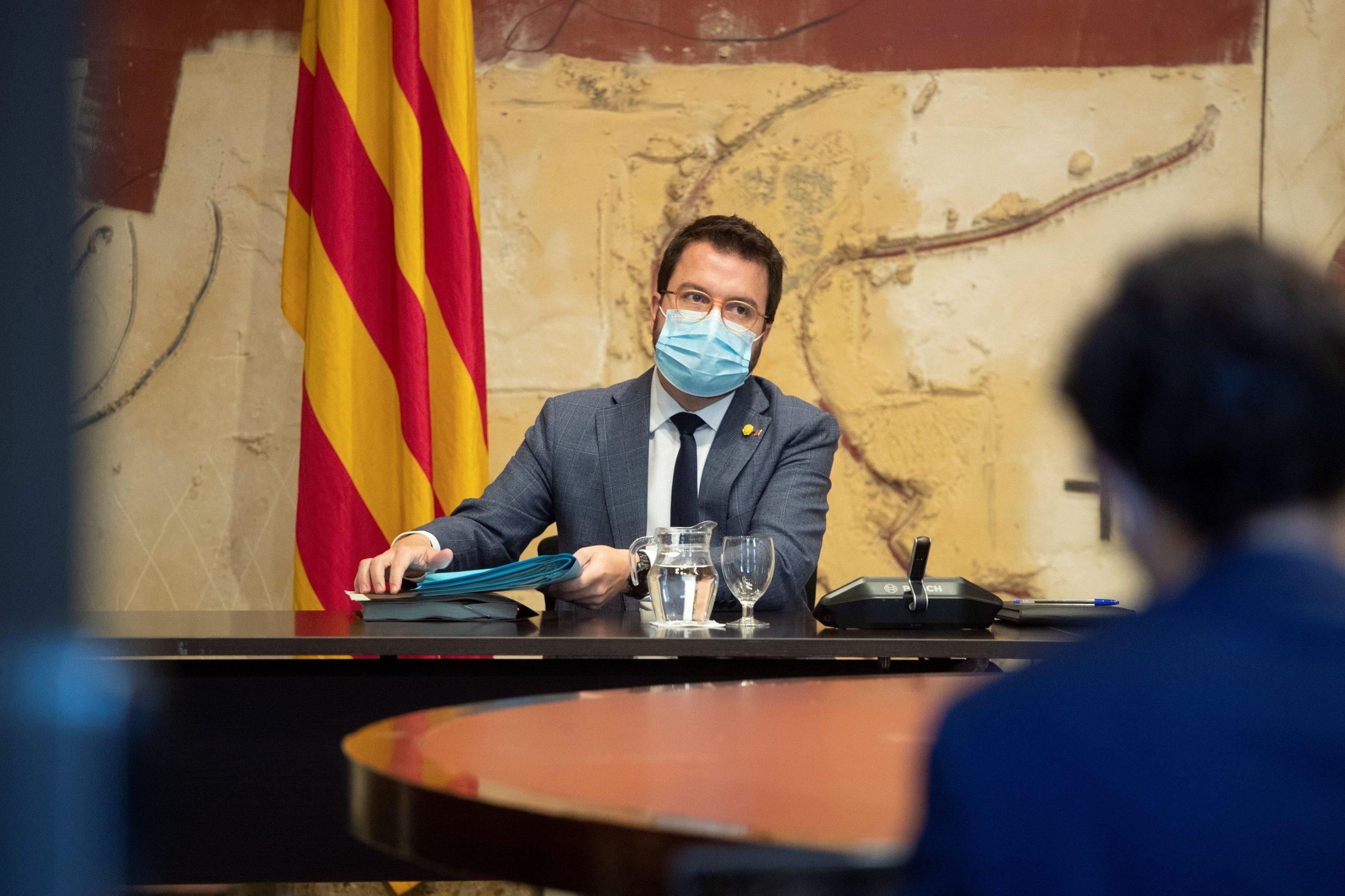 Pere Aragonès, presidente de la Generalitat./ EFE