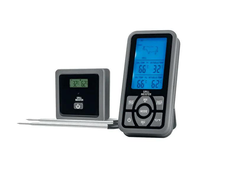 Radio termómetro para parrillas de Lidl