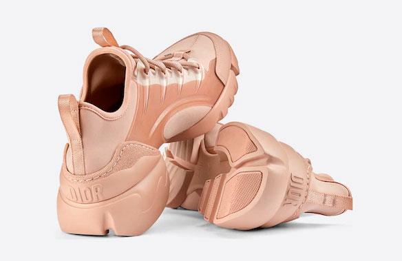 Sneakers D-Connect nude de Dior