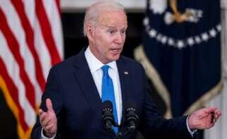 El presidente de EE.UU., Joe Biden. EFE/EPA/JIM LO SCALZO