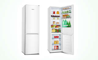 El frigorífico Hisense RB438N4EW2, disponible en Amazon. Imagen: Hisense