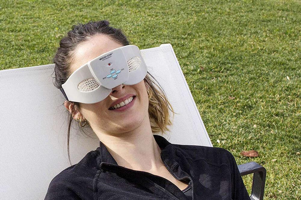 Gafas de masaje a la venta en Carrefour y en Amazon