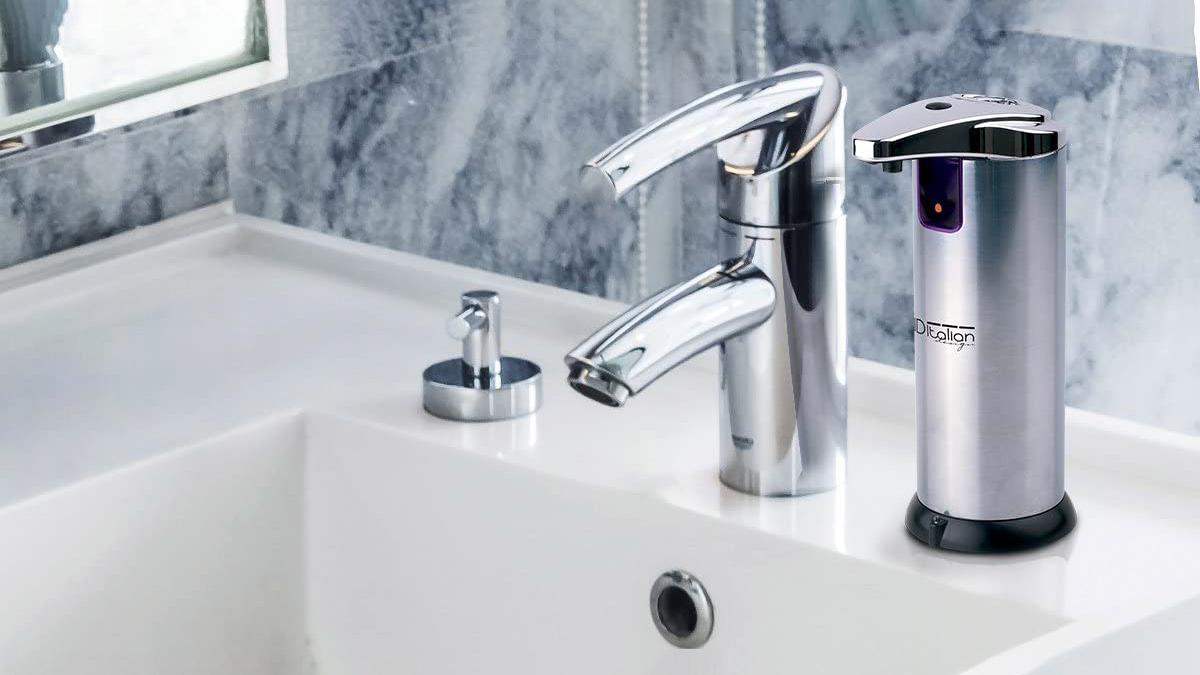 Dosificador automático de jabón Italian Design a la venta en Carrefour y en Amazon
