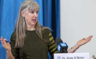 Kate O'Brien, directora del departamento de inmunización y vacunas en la OMS / Foto: EFE