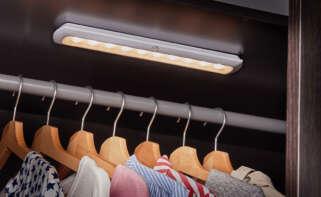 Luces led con sensor de movimiento para armarios, en Aldi