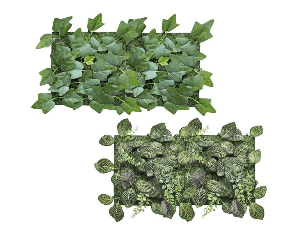 Plantas artificiales verticales de Aldi