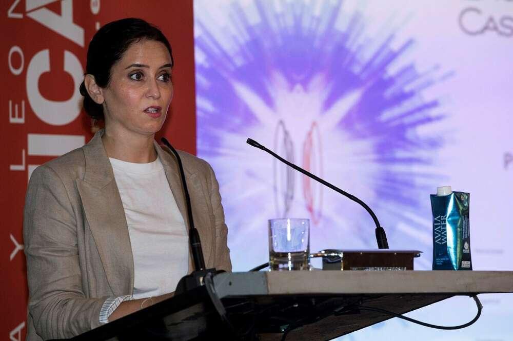 La presidenta madrileña en funciones, Isabel Díaz Ayuso. EFE/Luca Piergiovanni/Archivo
