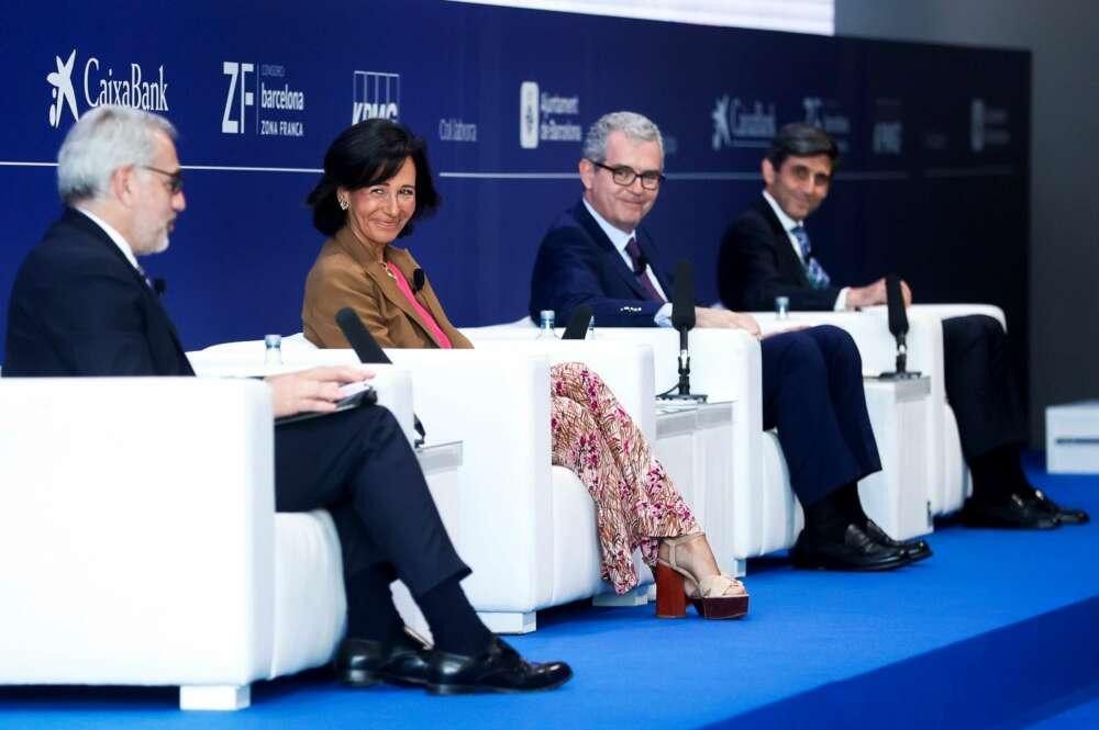 """Botín, Isla y Pallete advierten sobre los fondos europeos: """"Son una  oportunidad única, pero hay que hacer reformas"""""""