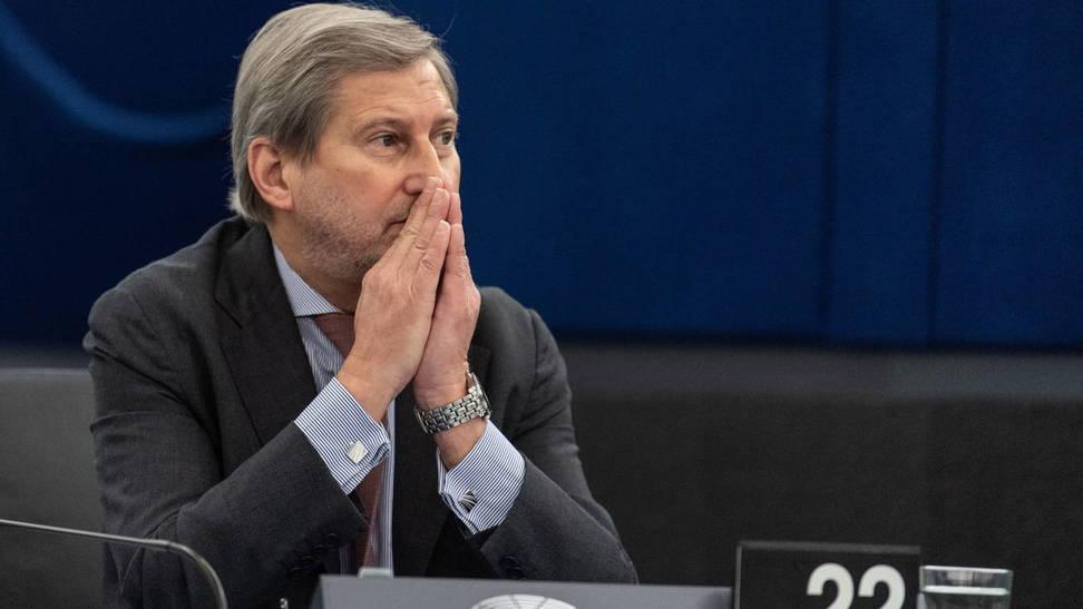 El comisario europeo de Presupuestos, Johannes Hahn. (EFE)