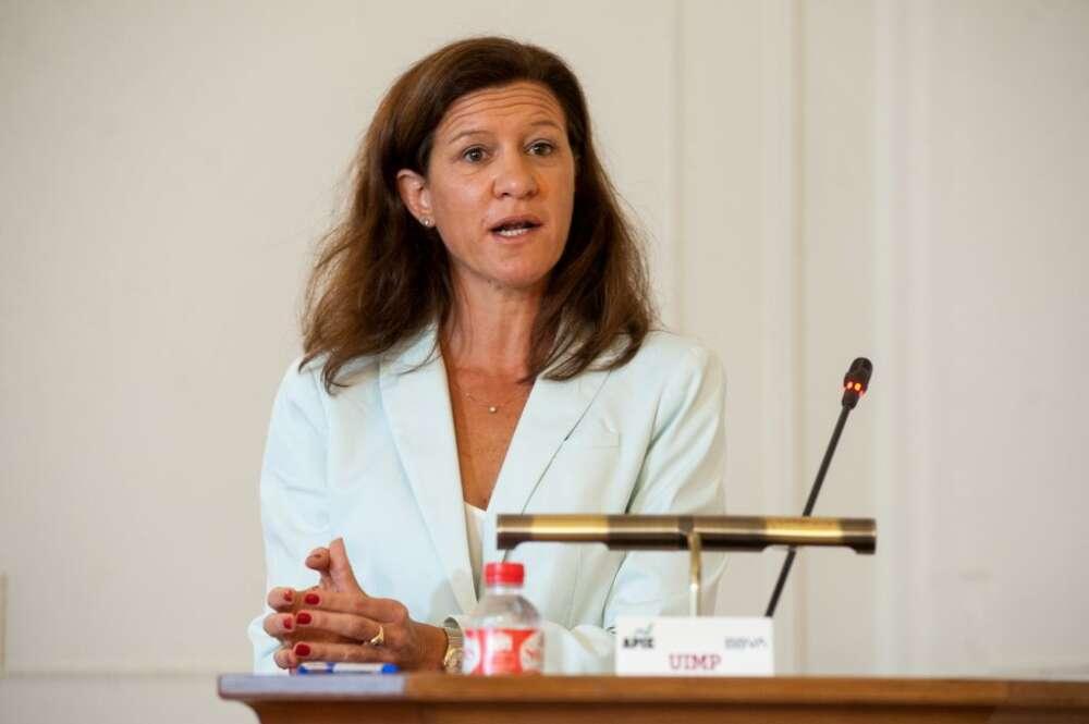 María Victoria Zingoni, Directora General de Cliente y Generación Baja en Carbono de Repsol, durante su intervención en el curso de verano de la APIE en la UIMP de Santander