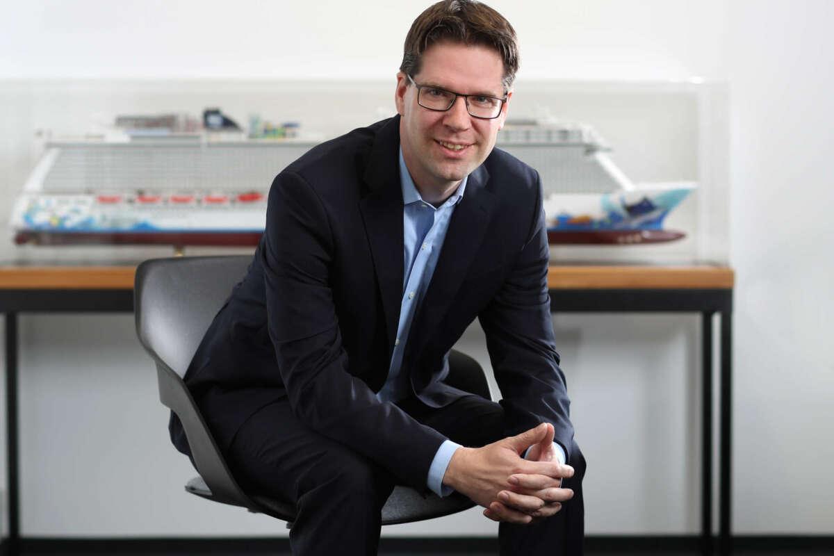 Kevin Bubolz, director general de Europa de Norwegian Cruise Line