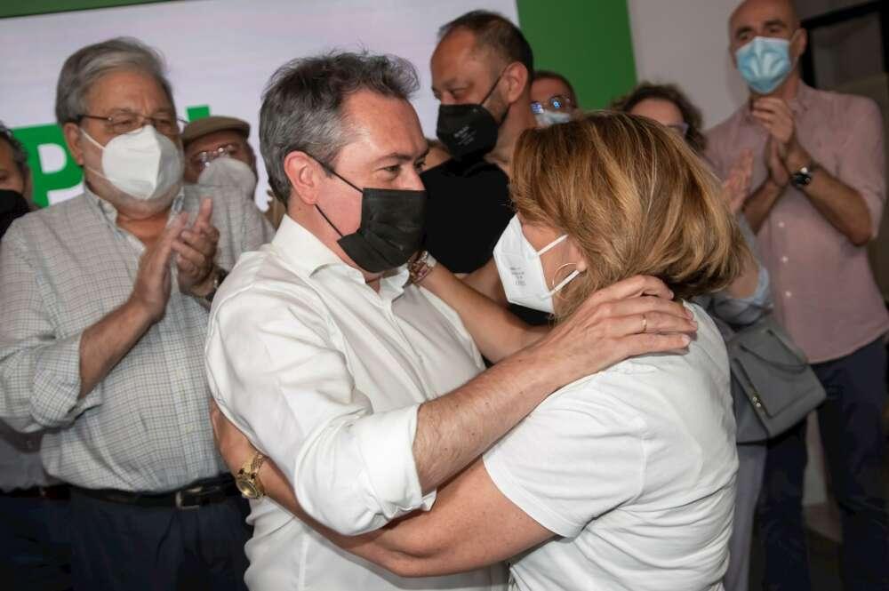 Juan Espadas no logra mejorar las expectativas electorales del PSOE andaluz.