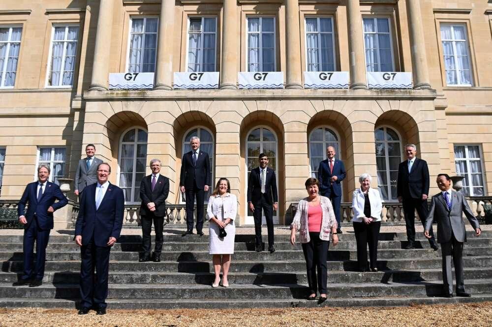 El G7 llega a un acuerdo para reformar el sistema fiscal global./ EFE
