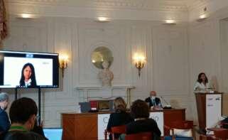 La directora general de Cliente y Generación Baja en carbono en Repsol, María Victoria Zingoni,