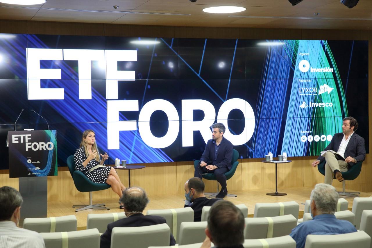 Imagen del foro ETF que celebró la revista INVERSIÓN el pasado jueves
