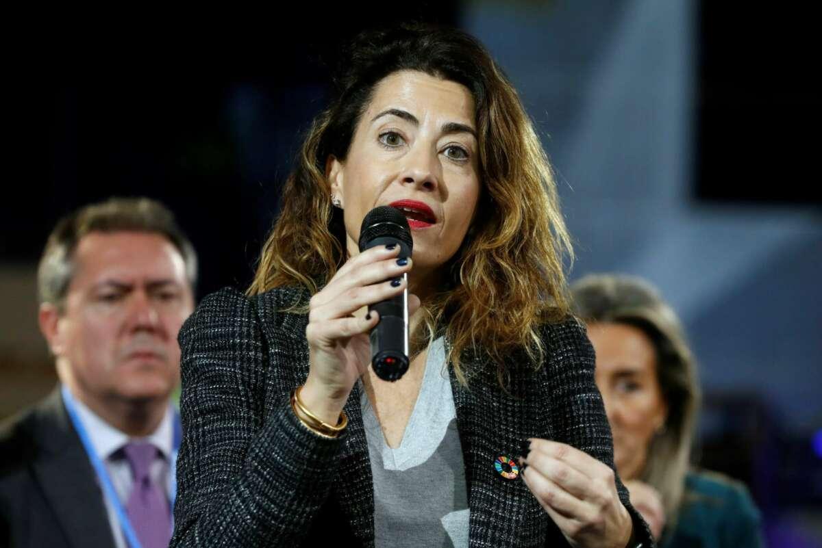 La nueva ministra de Transportes, Movilidad y Agenda Urbana,Raquel Sánchez Jiménez. EFE/J.J. Guillén/Archivo
