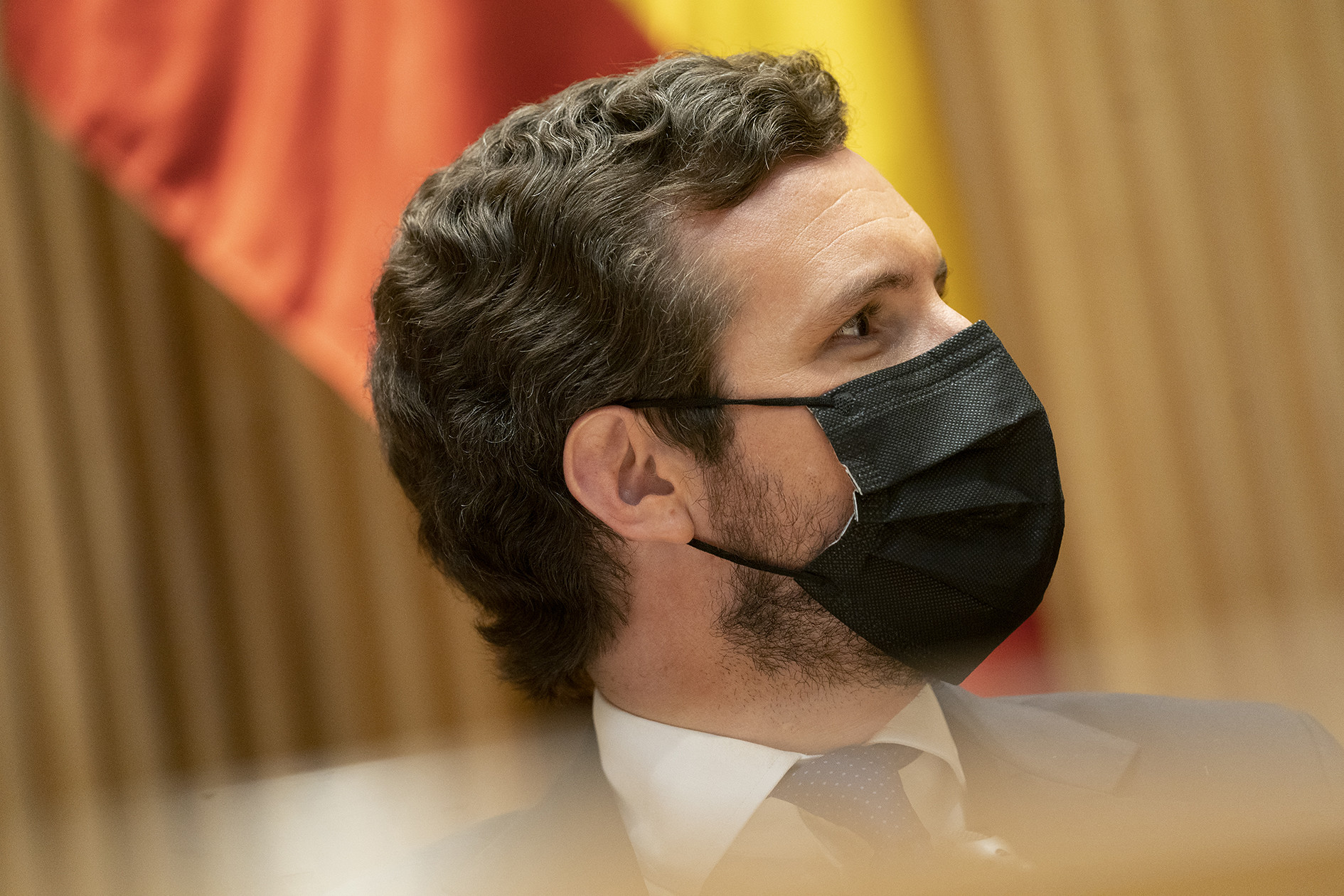 Pablo Casado saca 38 escaños de ventaja a Sánchez y alcanza la mayoría absoluta con Vox, según GAD3./ EFE
