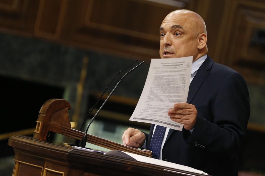 Rafael Simancas será el nuevo secretario de Estado de relaciones con las Cortes. // EFE