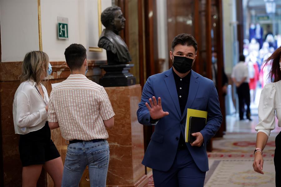 ERC y otros socios de investidura de Sánchez piden investigar el partidismo del Tribunal de Cuentas. // EFE
