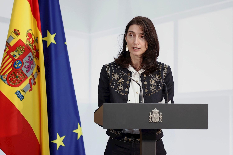 La ministra de Justicia ha confirmad que el Gobierno estudia la resolución del TC contra el estado de alarma. // EFE