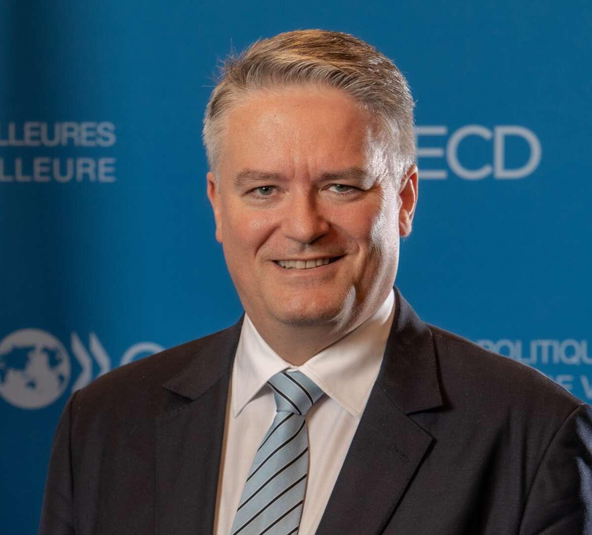 El secretario general de la OCDE, Mathias Cormann.
