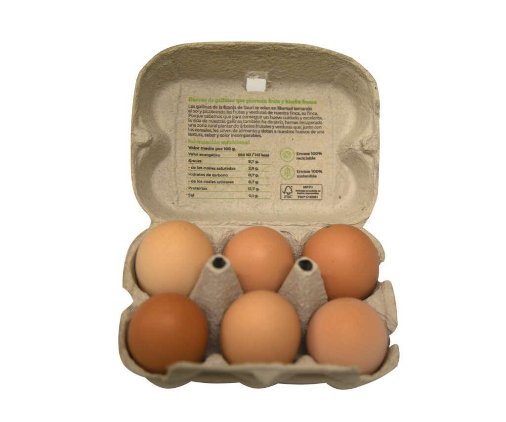 Huevos de La Granja de Sauri de Casa Garzea a la venta en Alcampo