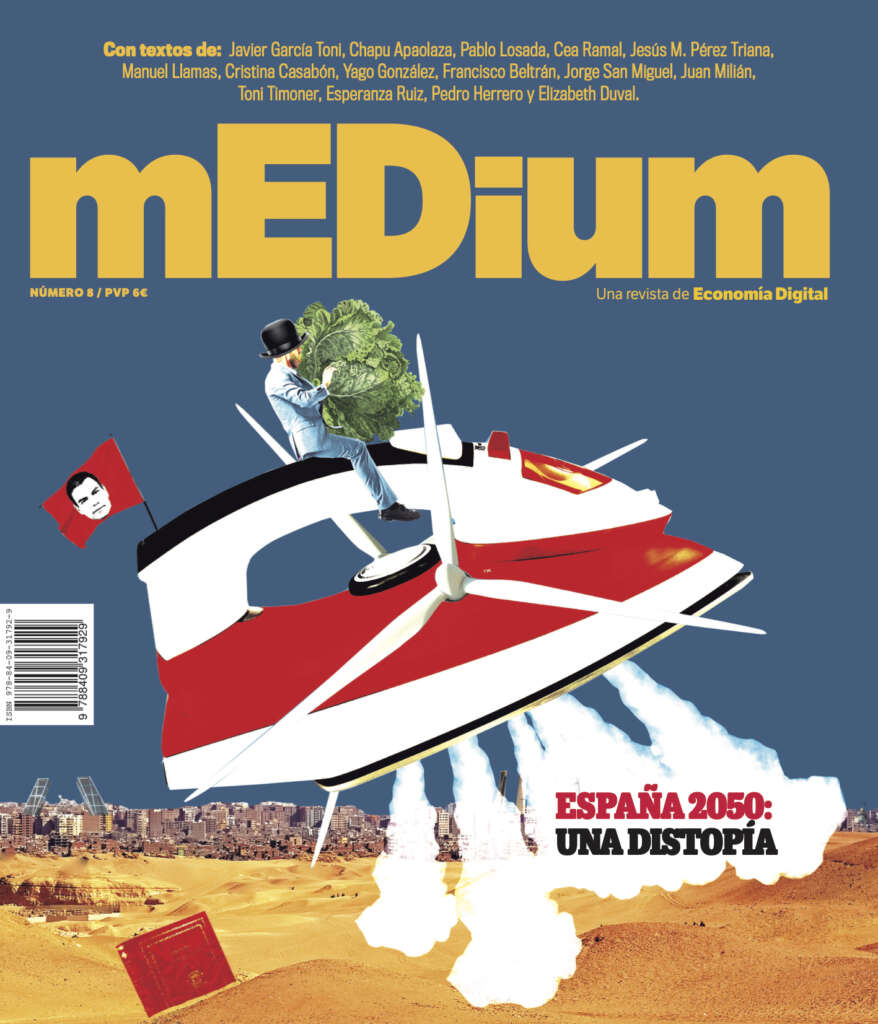 Portada de la revista mEDium 8, editada por el Grupo ED