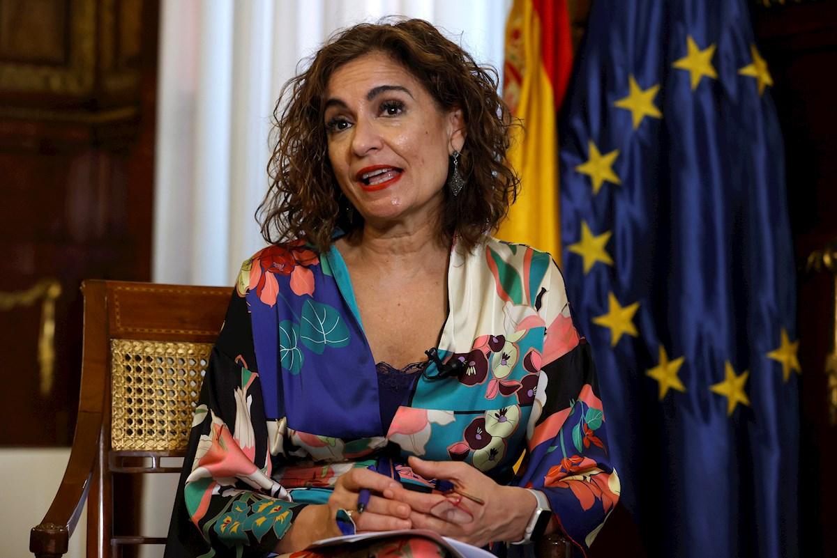 La ministra de Hacienda y Función Pública, María Jesús Montero. EFE/J.J. Guillén