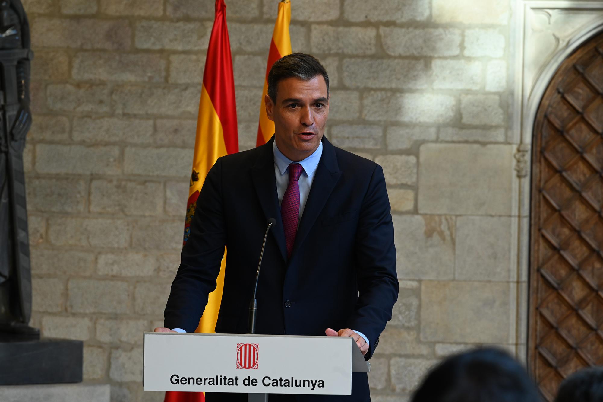Sánchez da por perdida la ampliación del aeropuerto de El Prat.