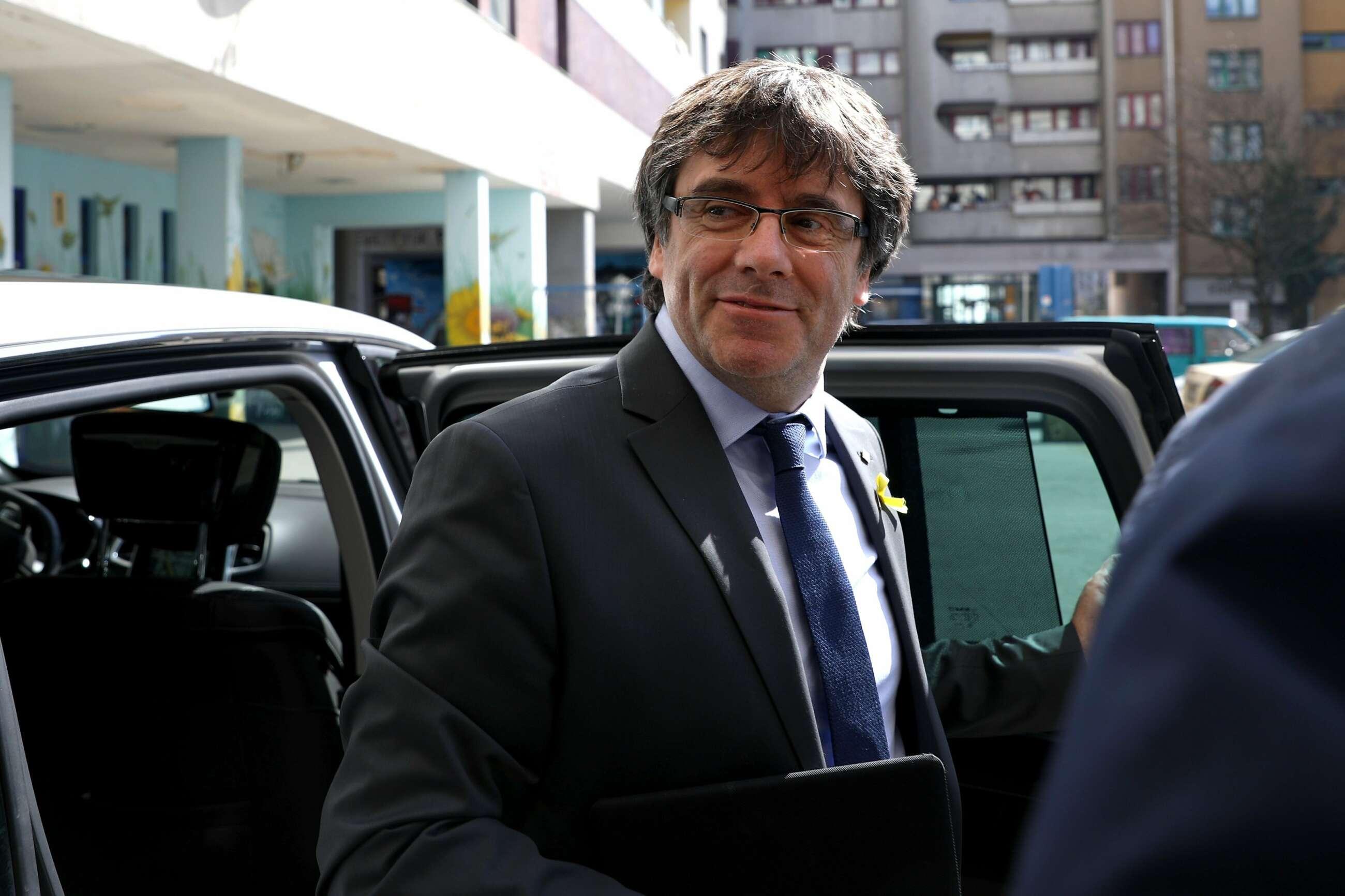 Puigdemont negoció con Rusia el suministro energético para una Cataluña independiente. En la imagen, Carles Puigdemont. / EFE