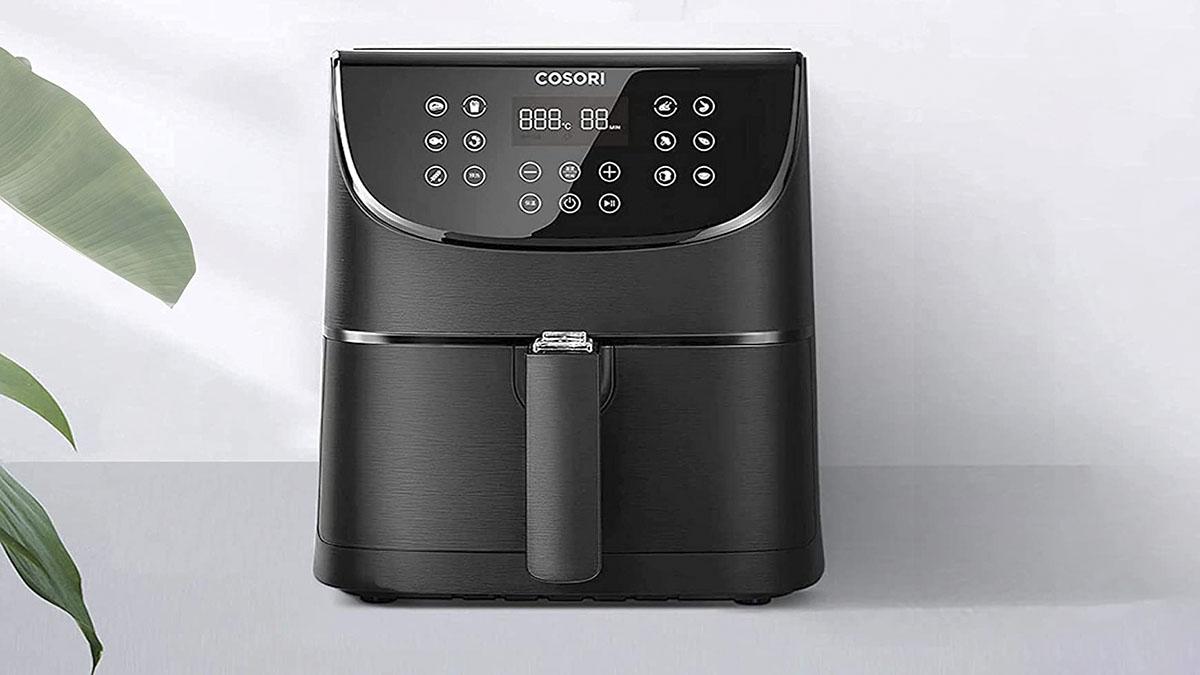 Freidora de aire caliente (sin aceite) con 11 Programas en oferta en Amazon