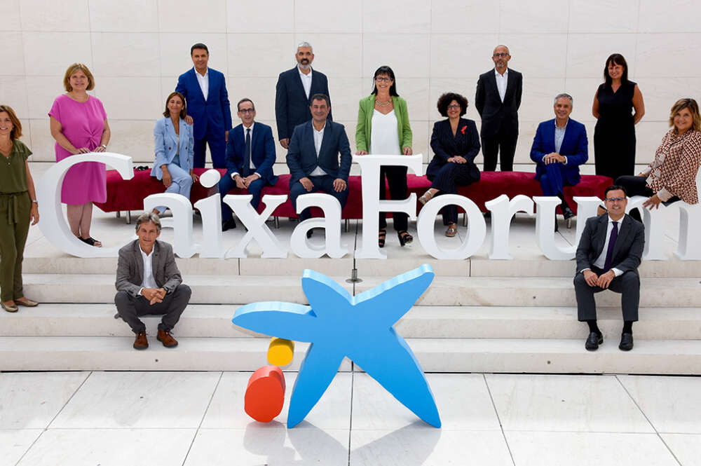 Acto de presentación de la temporada 2021/2022 de CaixaForum y CosmoCaixa