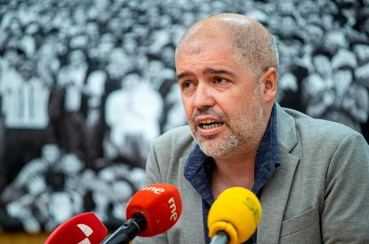 El secretario general de CCOO, Unai Sordo, en una fotografía de archivo. EFE/Santi Otero