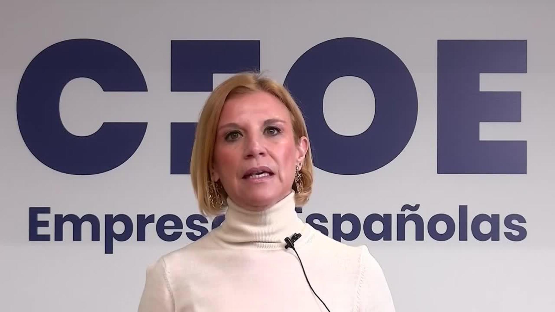 Rosa Santos, directora de Relaciones Laborales de CEOE.