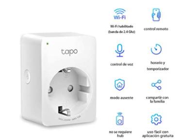 El enchufe inteligente con wifi TP-Link TAPO P100 que triunfa en Amazon