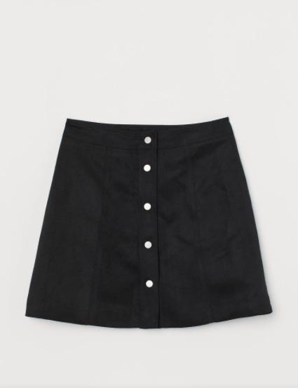 La Falda de corte evasé a la venta en H&M por 19,99 euros