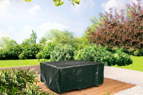 La funda para mesa cuadrada/rectangular de jardín de Lidl
