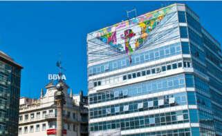Imagen de la sede de la operadora gallega R en A Coruña