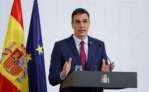 El presidente del Gobierno español, Pedro Sánchez, hace balance del año tras la última reunión del Consejo de Ministros de 2020. EFE/Chema Moya